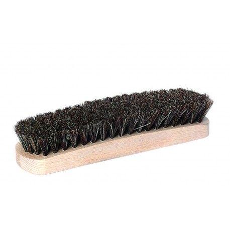Große Glanzbürste Rosshaarbürste gewölbt zum polieren