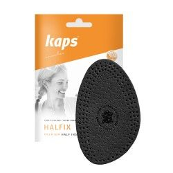 Halfix Black Vorfußeinlage Ledereinlegesohle