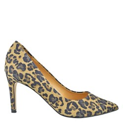 SOLO FEMME | VERA | PUMPS IN LEOPARDEN-MUSTER