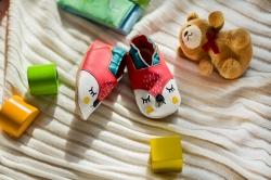 Designer-Krabbelschuhe aus Leder: Weil jeder Schritt die Welt verändert